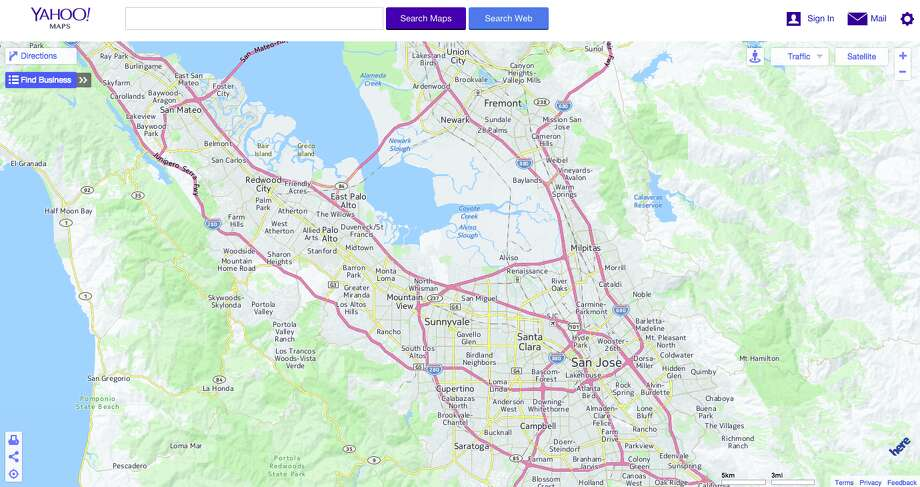 Yahoo to shut down maps website - SFGate on yahoo meme, yahoo! mail, yahoo! search, nokia maps, mapquest maps, yahoo! briefcase, web mapping, usa today maps, bing maps, rim maps, bloomberg maps, apple maps, msn maps, windows maps, gulliver's travels maps, zillow maps, expedia maps, brazil maps, cia world factbook maps, microsoft maps, yahoo! directory, yahoo! news, yahoo! video, trade show maps, yahoo! widget engine, yahoo! groups, live maps, yahoo! sports, yahoo! pipes, google maps, goodle maps,
