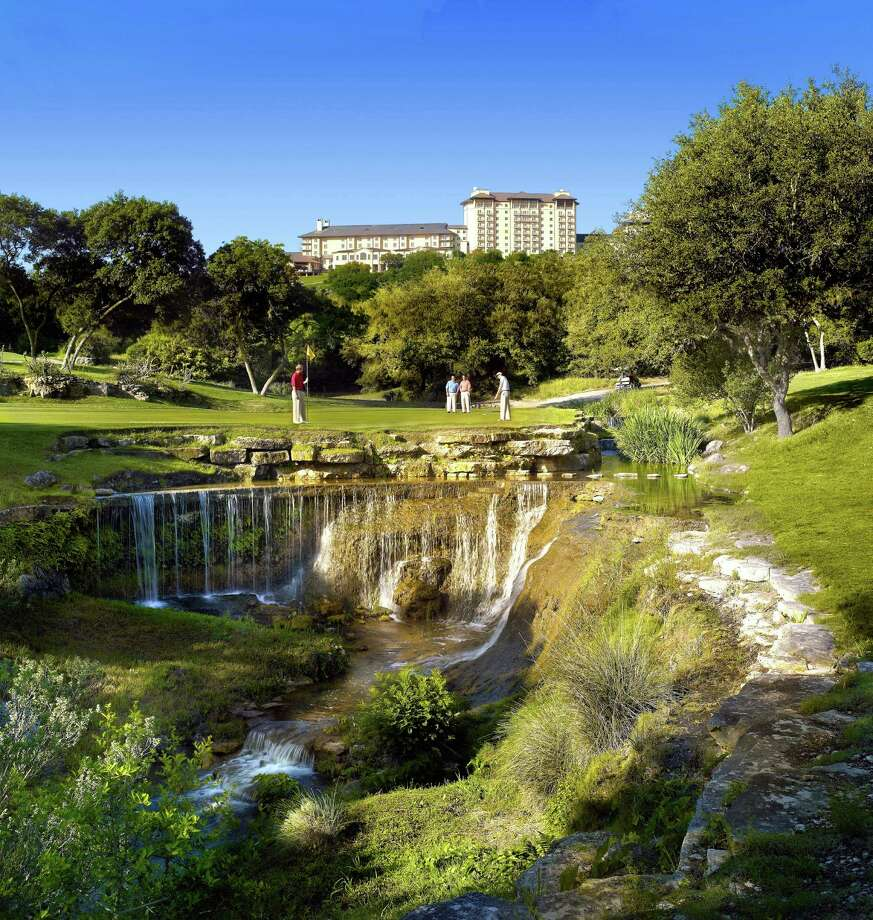 Omni Barton Creek Resort in Austin has four championship courses and is hosting country-music concerts onsite on select dates this summer. / Barbara Kraft 2009