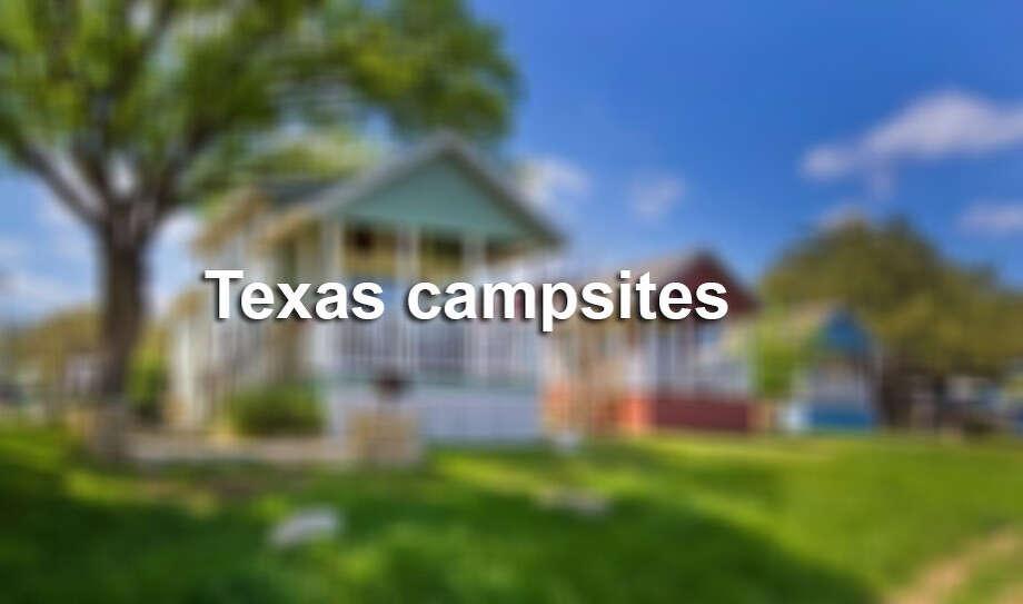 The top campsites in Texas blur