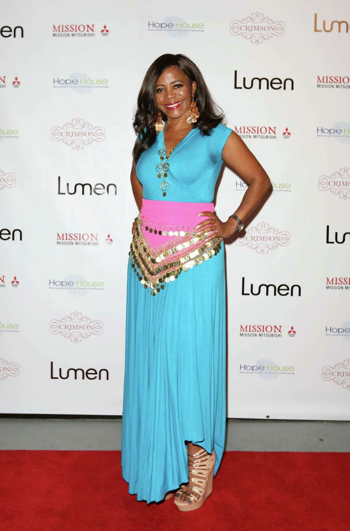FILE - Darian Ward attends the Bollywood Blitz event in Houston, Texas on June 5, 2015. Mayor Sylvester Turner suspended Ward for 10 days, accusing her of conducting personal business on city time and failing to turn over public records requested by a local journalist.