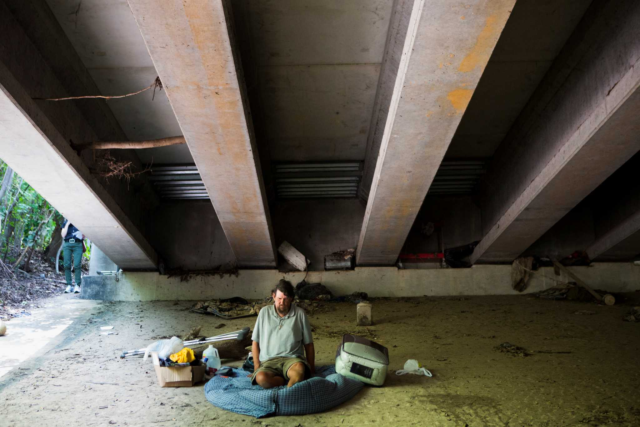Houston-area Homelessness Down Slightly, Especially In Key