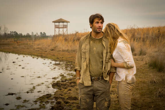 """James Wolk and Nora Arnezeder star in """"Zoo,"""" a new drama based on the best-selling novel by James Patterson, which premieres June 30 on CBS."""