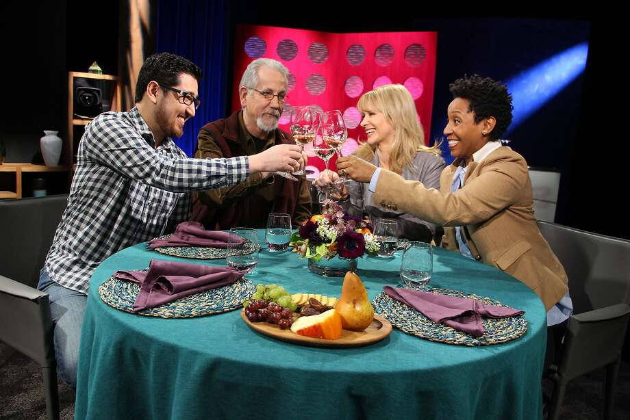 """Check, Please! Bay Area"" celebrates its 10th season this year. Each show features three guests' favorite restaurants. Photo: Courtesy Of KQED"