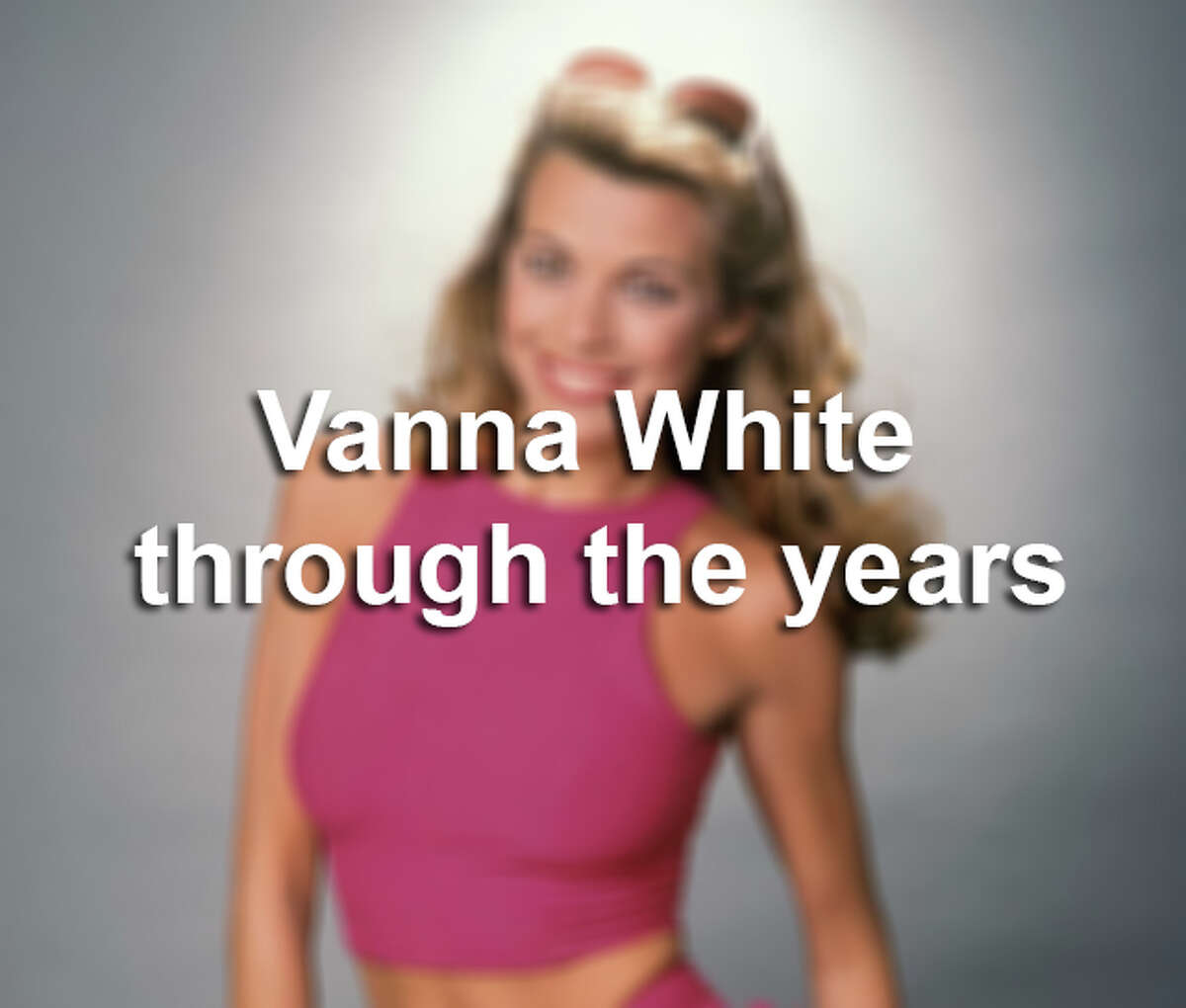 Vanna White through the years.