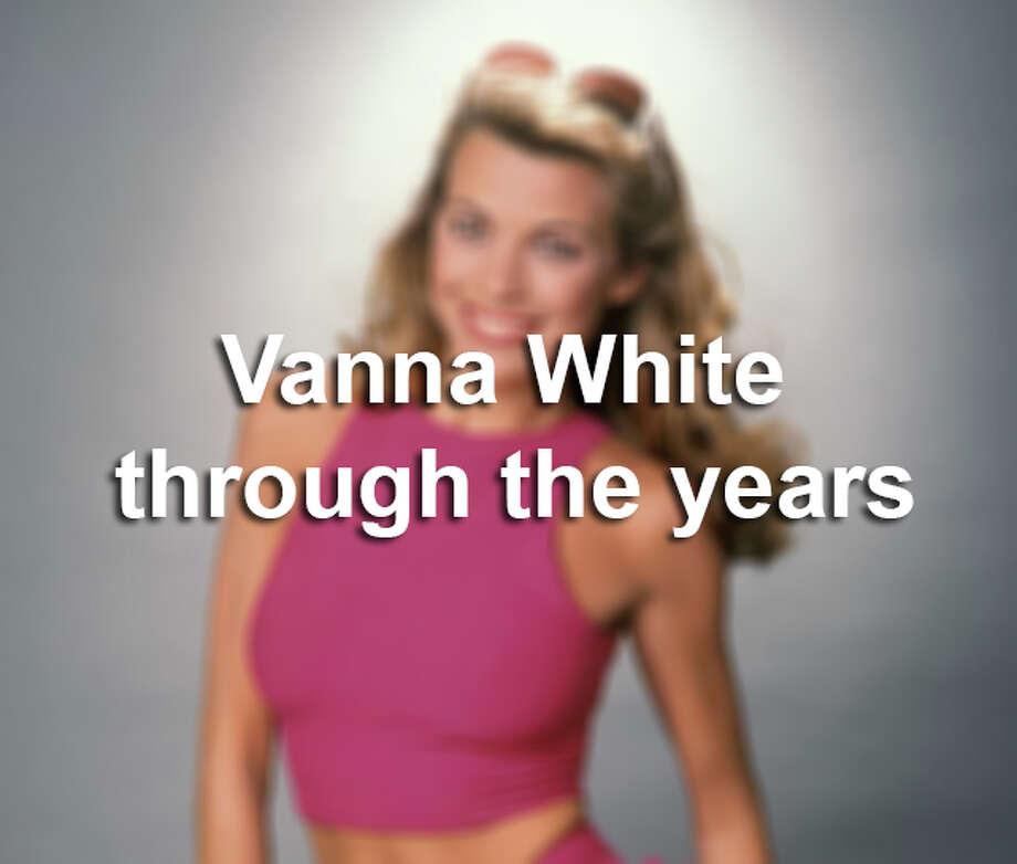 Vanna White through the years. Photo: Ron Galella, Getty Images / 1984 Ron Galella, Ltd.