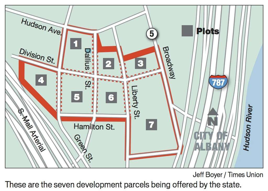 65 Acre Downtown Site Gets Bids Times Union