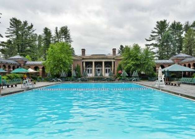 Saratoga Spa State Park's Victoria Pool Thursday June 26, 2014, in Saratoga Springs, NY. (John Carl D'Annibale / Times Union)