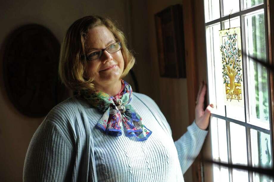 Midwife K. Michelle Doyle at her home on Friday, Aug. 15, 2014 in Troy, N.Y.  (Lori Van Buren / Times Union) Photo: Lori Van Buren / 00028096A
