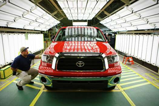 Since 2006, when Toyota began exports from the local plant, it has shipped trucks to 26 countries where the U.S. has trade agreements. Exports help keep our state and local economies moving forward. Photo: MICHAEL STRAVATO /New York Times / NYTNS