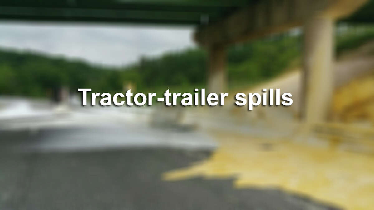 Trailer spills