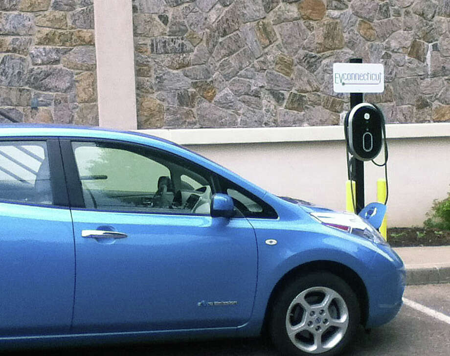 The Fairfield Woods Branch Library will sponsor a June 10 talk on electric cars. Photo: Contributed Photo