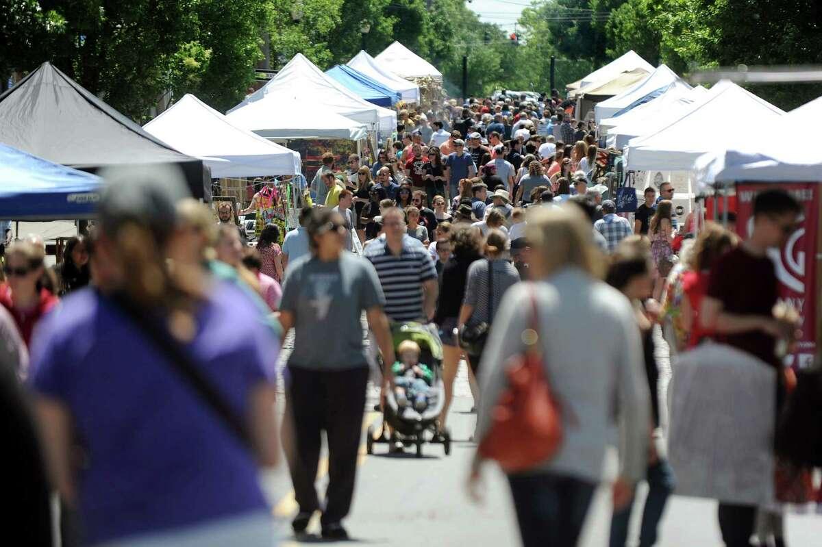 June 5: Art on Lark. Albany street festival celebrates art and artisans.