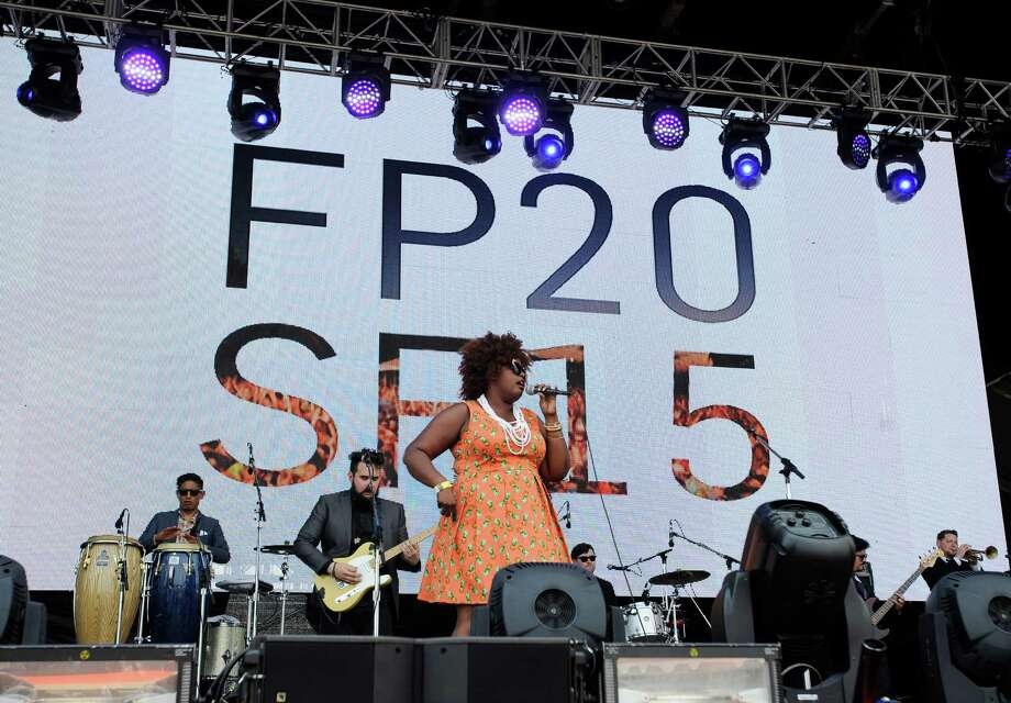 The Suffers perform at Free Press Summer Fest Saturday, June 6, 2015, in Houston. ( Jon Shapley / Houston Chronicle ) Photo: Jon Shapley, Staff / © 2015 Houston Chronicle