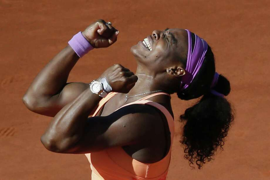 Top-seeded Serena Williams called the end of her two-week stay in Paris a nightmare because of illness and inconsistent play, but a victory in the French Open final made it all worthwhile. Photo: PATRICK KOVARIK, Staff / PK