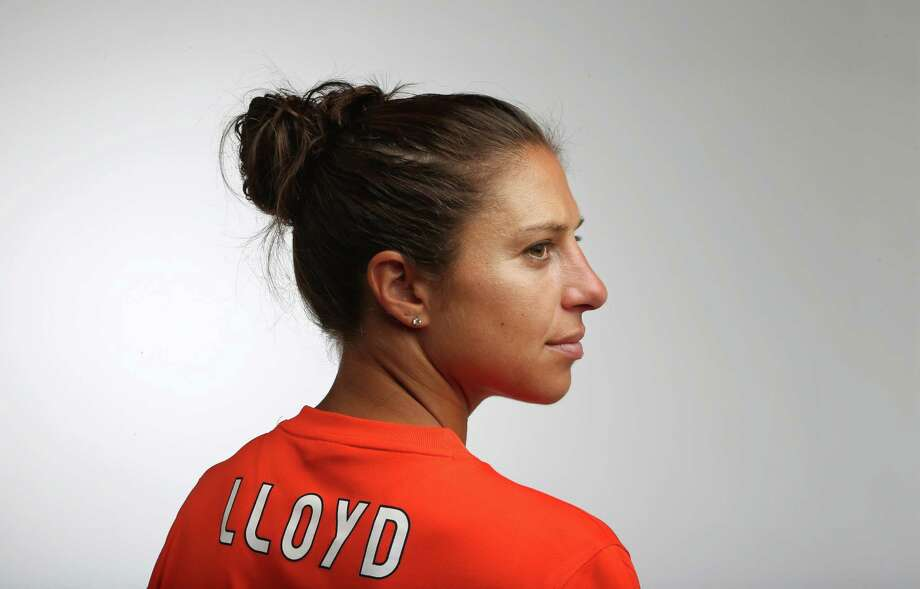 Dash midfielder Carli Lloyd, 32, is expected to provide leadership for the U.S. national team in the Women's World Cup. Photo: Mayra Beltran, Staff / © 2015 Houston Chronicle