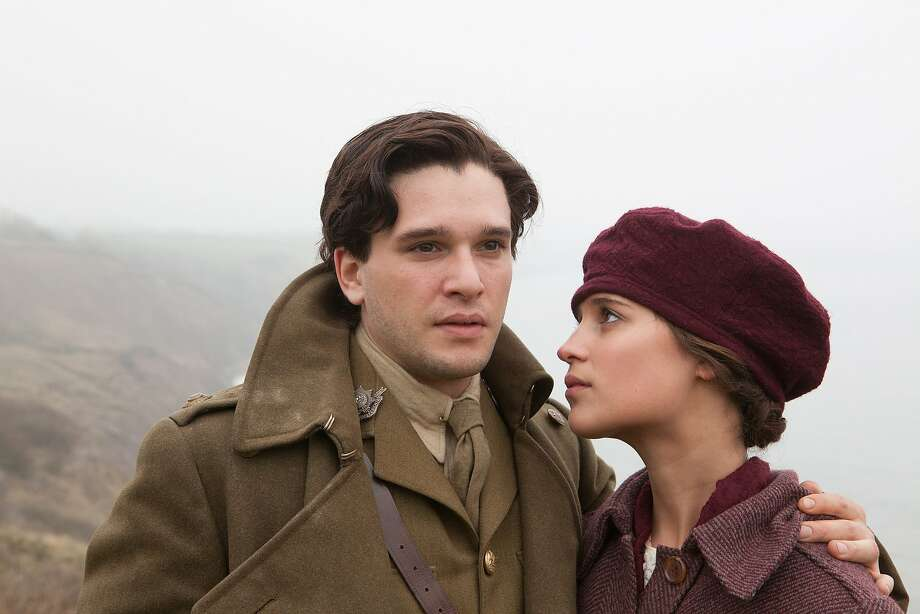 Kit Harington and Alicia Vikander portray a couple whose relationship is damaged by World War I. Photo: Handout, McClatchy-Tribune News Service