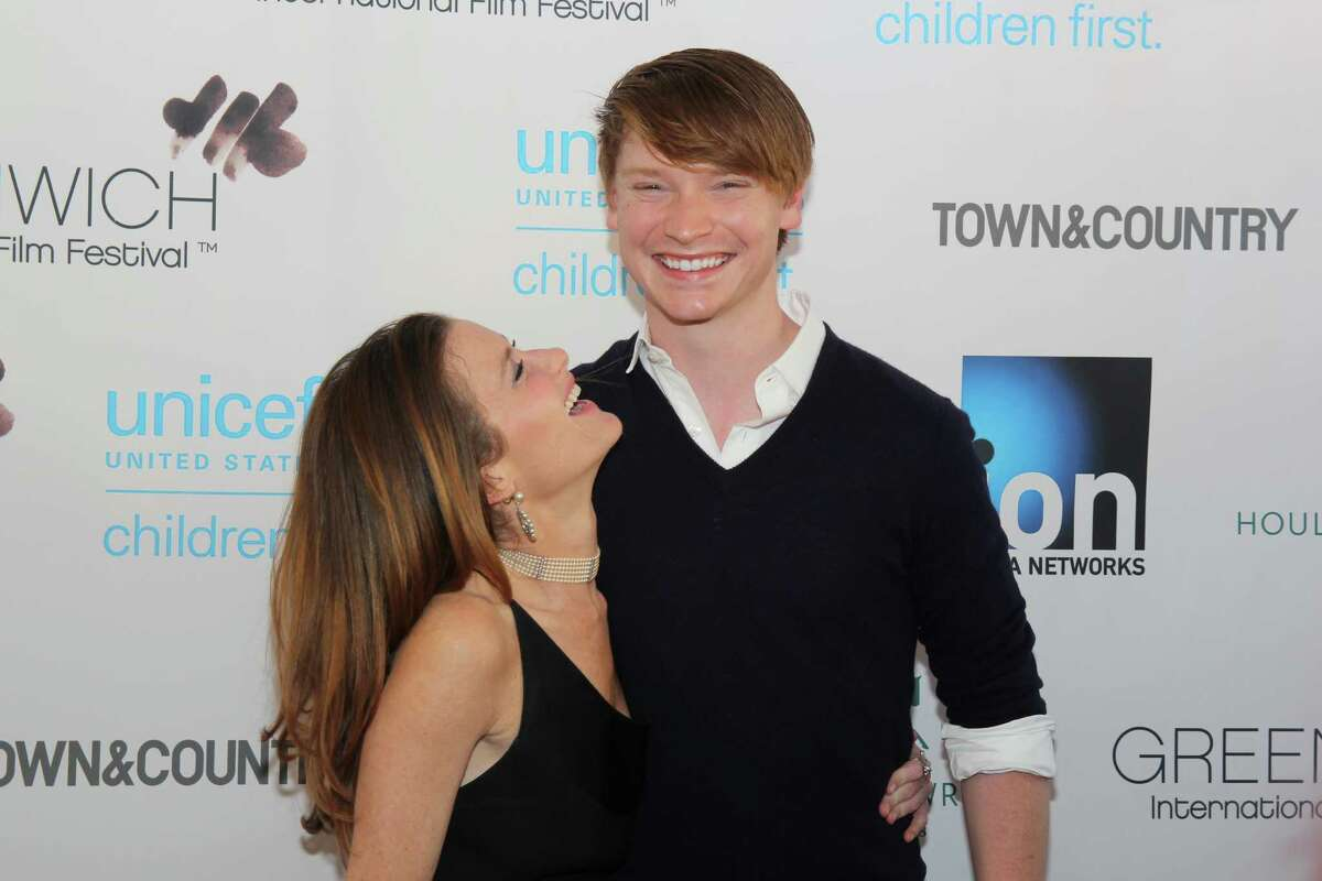 Actor Calum Worthy (right) is SEEN here at....Were You SEEN?