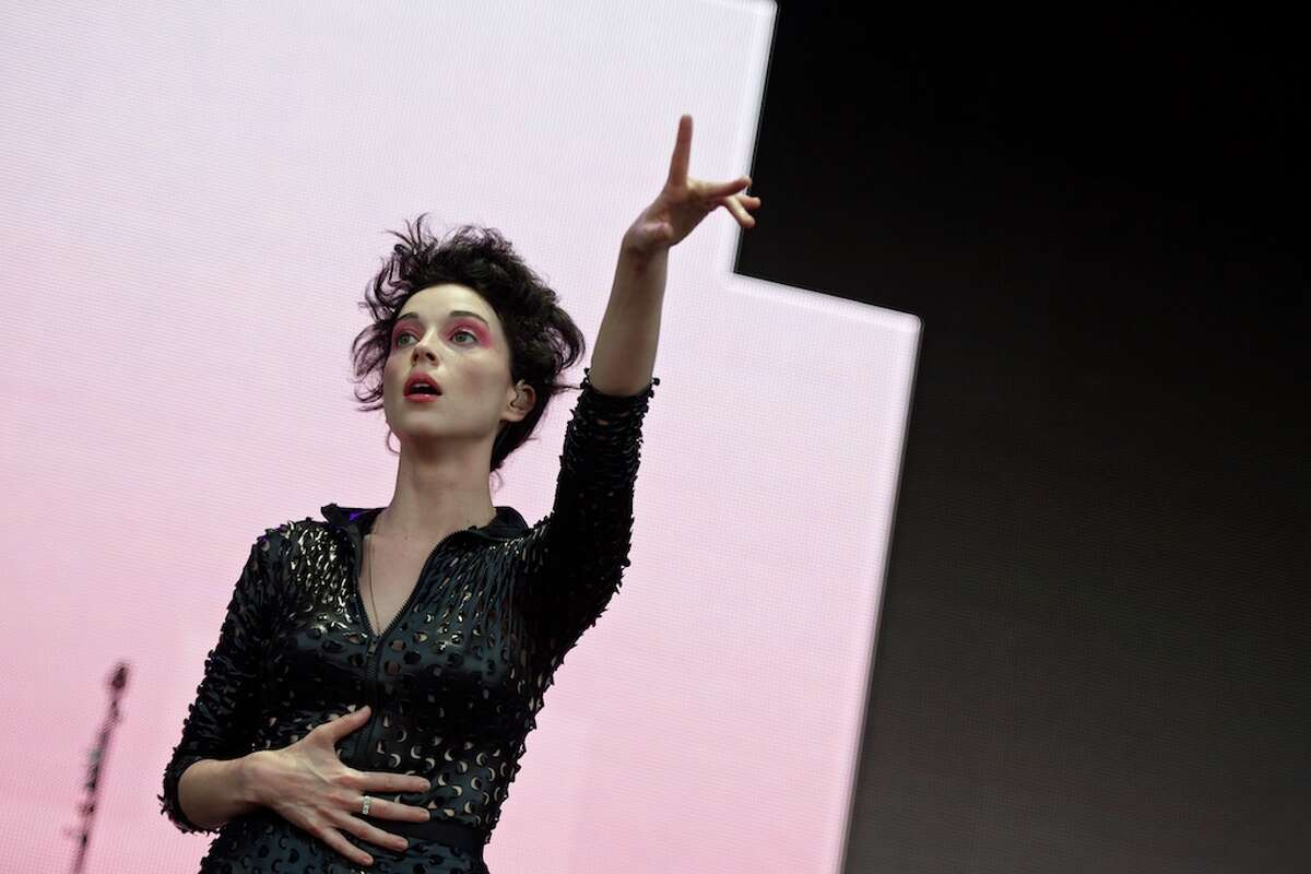 St. Vincent performs at Free Press Summer Festival 2015