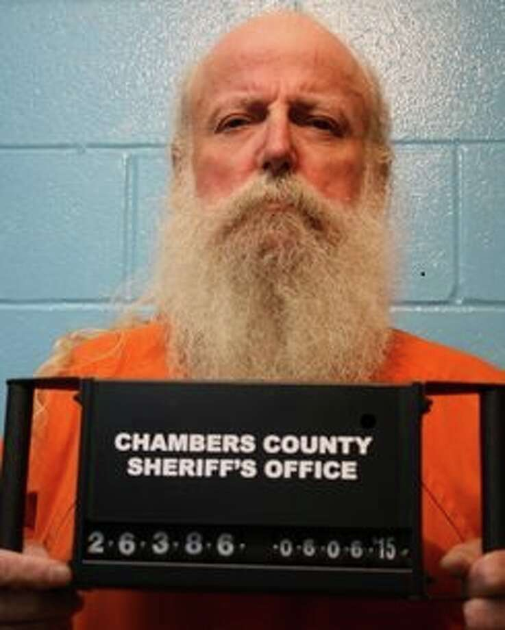 Lonnie Robertson Jr. is being held in Chambers County jail for murder.