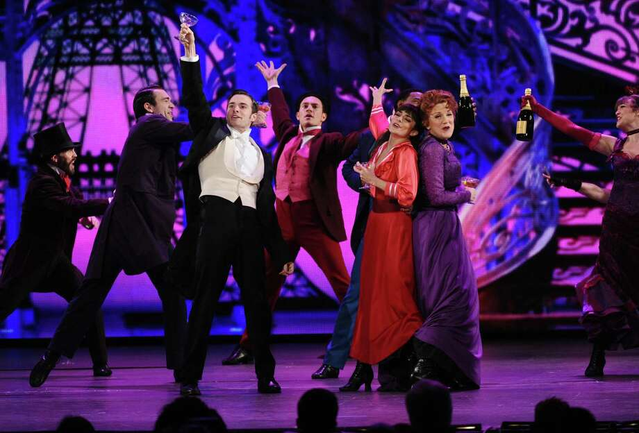 "Vaness Hudgens, second right, Victoria Clark, right, and The cast of ""Gigi"" perform at the 69th annual Tony Awards at Radio City Music Hall on Sunday, June 7, 2015, in New York. (Photo by Charles Sykes/Invision/AP) Photo: Charles Sykes, Charles Sykes/Invision/AP / Invision"