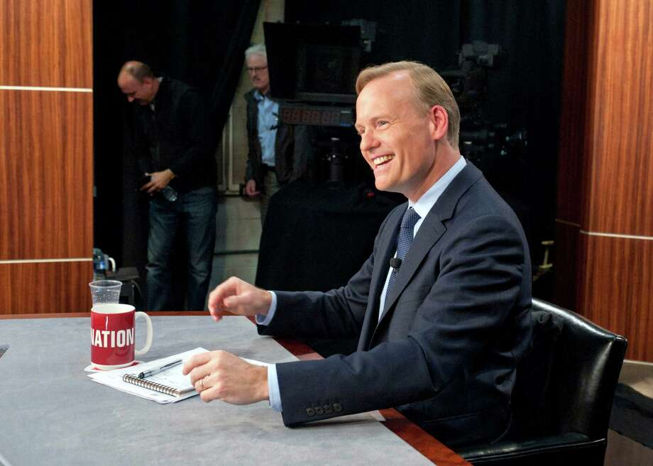 "John Dickerson debuted Sunday as permanent host of CBS' ""Face the Nation,"" a post vacated last week by Bob Schieffer after 24 years. Photo: Chris Usher, HONS / CBS News"