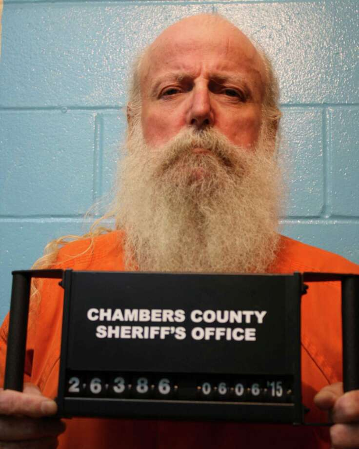 59 year old Lonnie Robertson, Jr. is charged with Murder in the death of 61 year old Cheryl Congleton. Photo: Chambers County Sheriff's Office / Chambers County Sheriff's Office