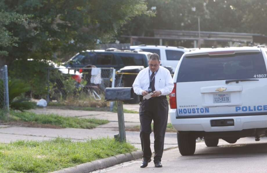 Police are investigating a shooting that left one person dead in southwest Houston on June 8, 2015.