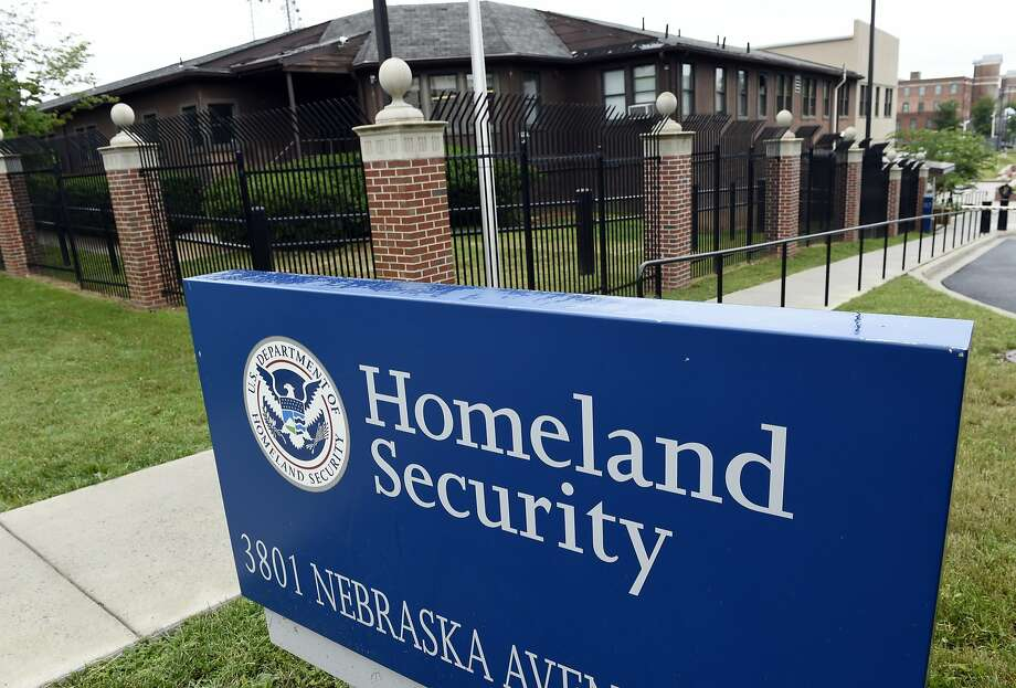 The Homeland Security Department headquarters in northwest Washington, Friday, June 5, 2015. China-based hackers are suspected once again of breaking into U.S. government computer networks, and the entire federal workforce could be at risk this time. The Department of Homeland Security said in a statement that data from the Office of Personnel Management _ the human resources department for the federal government _ and the Interior Department had been compromised. (AP Photo/Susan Walsh) Photo: Susan Walsh, Associated Press