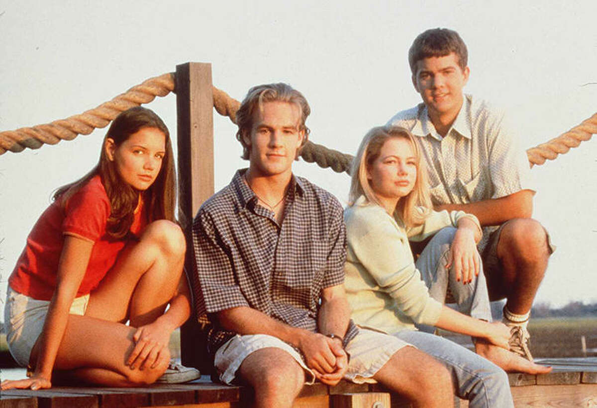 """The cast of """"Dawson's Creek."""" People are mostly talking about the fact that the iconic theme song """"I Don't Want to Wait"""" by Paula Cole is absent on the streaming service. (The answer: the rights were given solely for on-air showings). And there has been an argument made for the show being an antidote to the 2020 blues. """"In times of flux and crisis, nostalgia works like a social ointment, mixed and mashed together through imperfect memory...'Dawson's Creek' was time of simpler politics, the beauty of youth and the innocence of virginity,"""" The Conversation writes."""