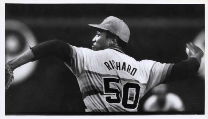 J.R. Richard: Sept. 5, 1971       The big righthander, who was the second overall pick in 1969, had a debut to remember. He tossed a complete game, striking out 15, in a 5-3 win at San Francisco.