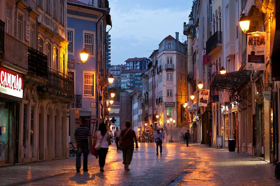 Coimbra's main pedestrian drag, which divides the lower and upper parts of the old town, is a delight to explore. Photo: Dominic Arizona Bonuccelli, Rick Steves' Europe