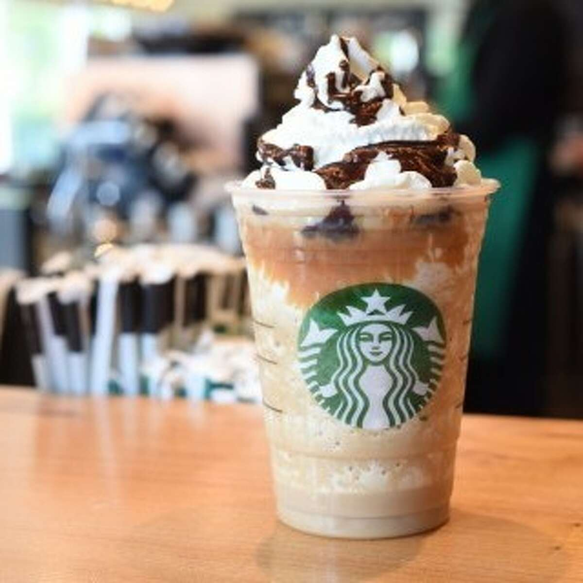 A Starbucks hot chocolate drink, pictured in a file photo. A Seattle-area woman now claims she was sickened after drinking a similar beverage spiked with industrial cleaner.