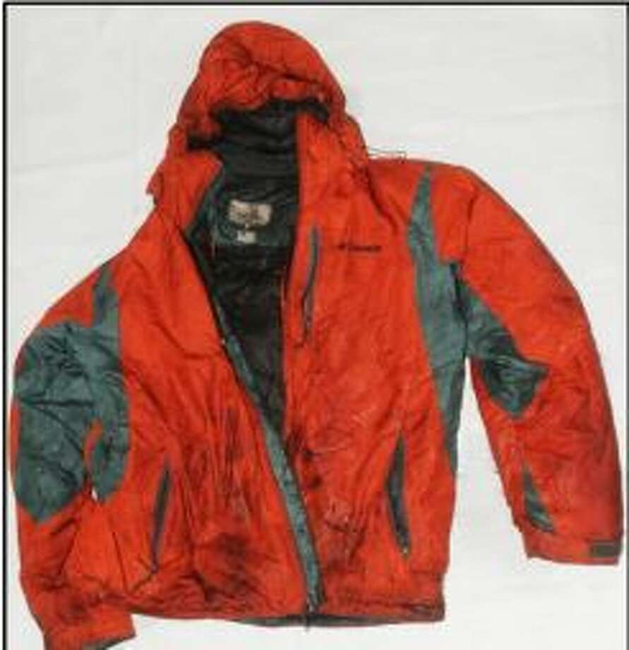 This jacket was found Dec. 29, 2014, with human remains later identified as Jency Dupree Whitlock, age 24. (Harris County Institute of Forensic Sciences)