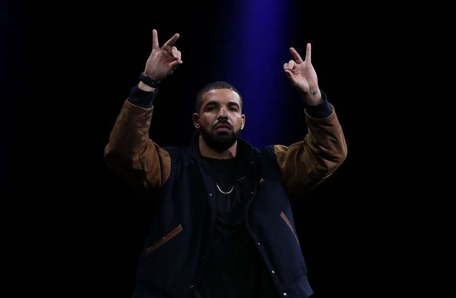 Recording artist Drake speaks about Apple Music during the Apple WWDC on June 8, 2015 in San Francisco, California. Photo: Justin Sullivan, Getty Images