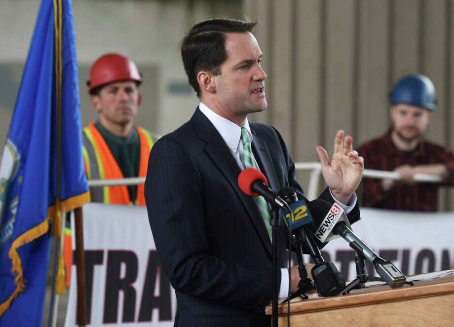 U.S. Rep. Jim Himes, one of few Democrats in the House to support Pres. Barack Obama's trade initiative flew to the G7 Summit on Air Force One. Photo: Tyler Sizemore / File Photo / Greenwich Time
