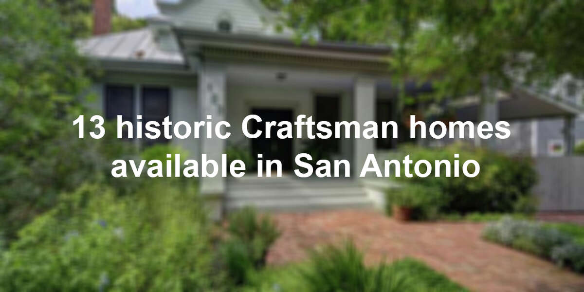 From Denver Heights to Alamo Heights, Woodlawn Lake to Lavaca, Craftsman homes, dating back nearly 100 years, are some of the most familiar designs in the city. Click through the gallery above to see the variety of Craftsman-style houses on the market today.