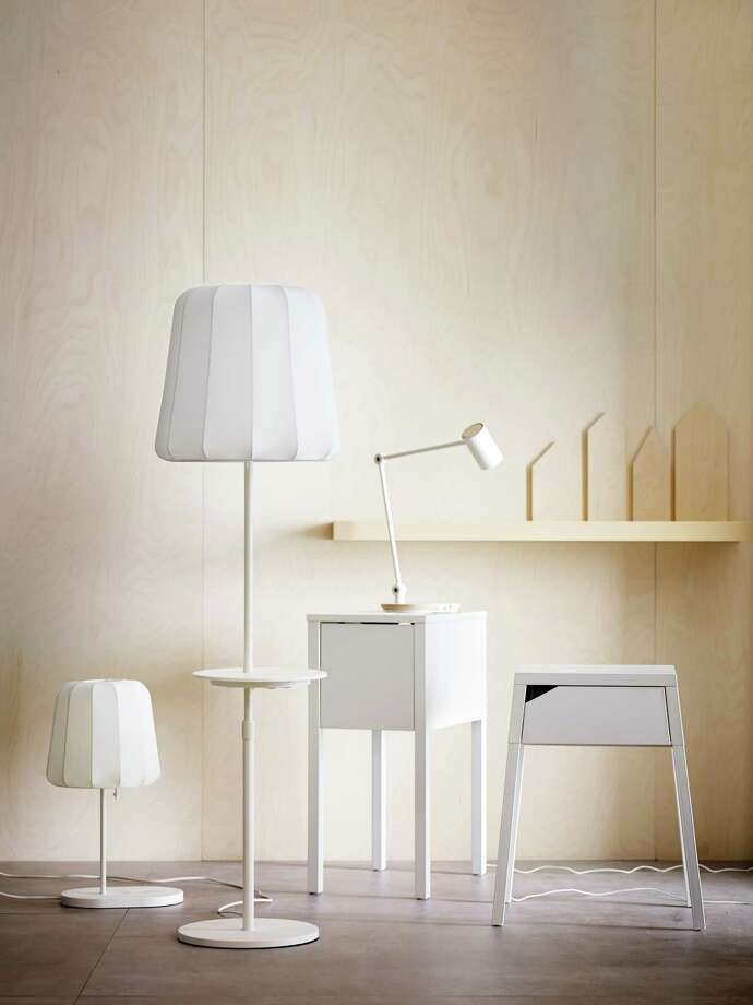 A new collection from IKEA offers wireless charging stations built into lamps and tables.