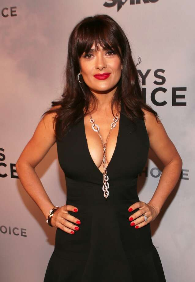 Actress Salma Hayek attends Spike TV's Guys Choice 2015 at Sony Pictures Studios on June 6, 2015 in Culver City, California. (Photo by Christopher Polk/Getty Images for Spike TV)