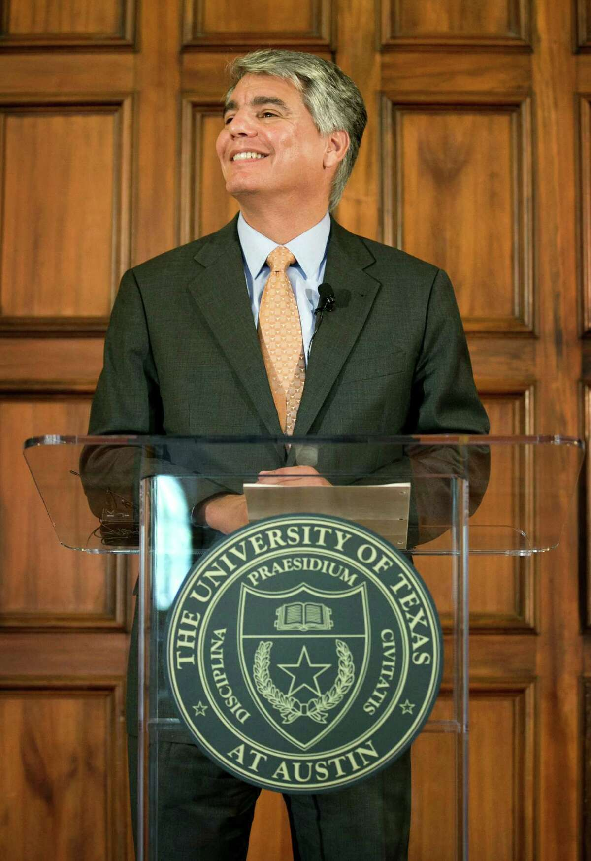 Gregory Fenves, president of the University of Texas at Austin. Learn what a recent report of sexual assaults at UT revealed in the following gallery.