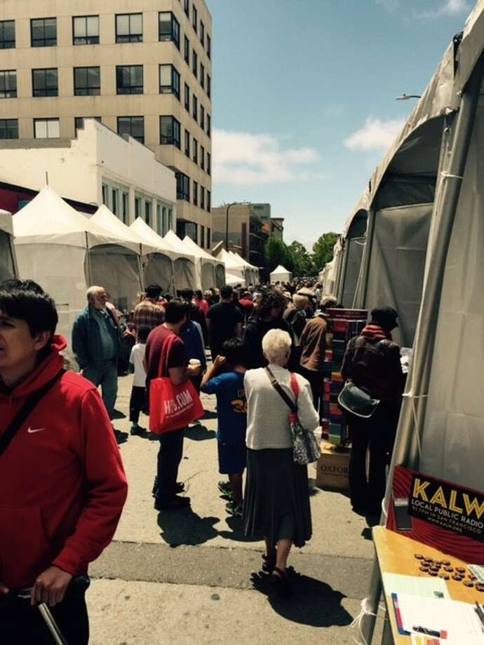 A look down Literary Lane at the Bay Area Book Festival