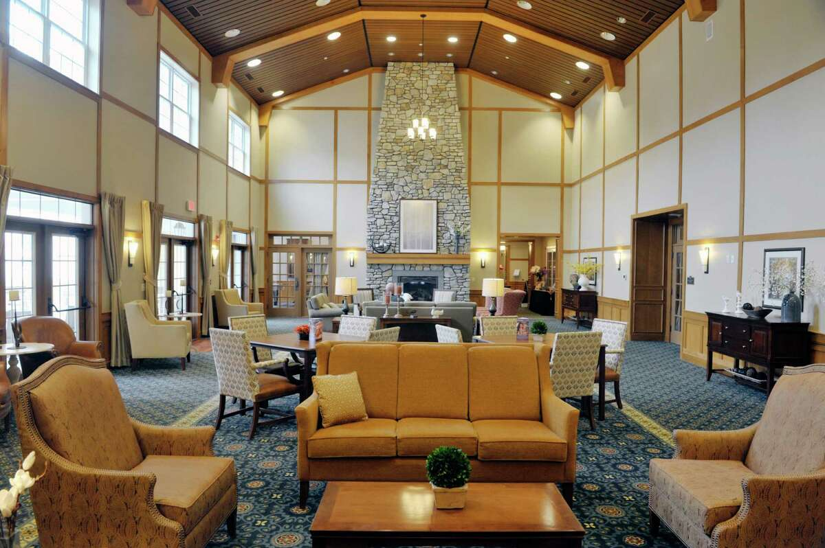 A view of the great room inside the commons building at the Shaker Pointe at Carondelet, an independent living community on Monday, June 8, 2015, in Watervliet, N.Y. In late May, 56 new units were finished which brings the total number of units from phase one and phase two to 162. (Paul Buckowski / Times Union)