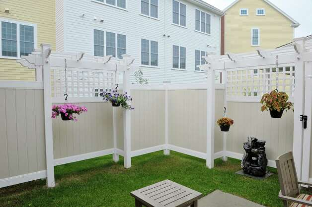 A view of outside meditation garden at the Shaker Pointe at Carondelet, an independent living community on Monday, June 8, 2015, in Watervliet, N.Y. In late May, 56 new units were finished which brings the total number of units from phase one and phase two to 162.     (Paul Buckowski / Times Union) Photo: PAUL BUCKOWSKI / 00032130A