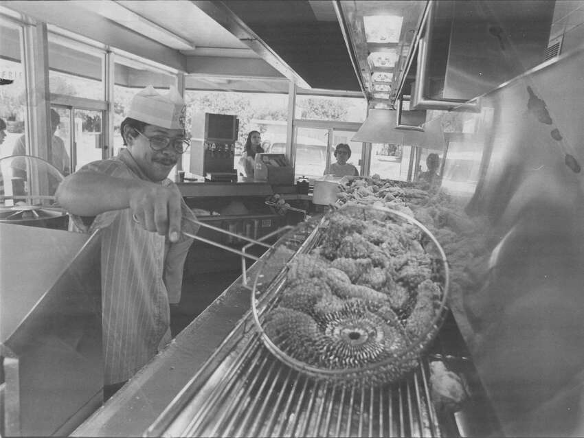 2. In designing his concept of takeout for the fast-moving and changing lifestyles of post World War II Americans, Church Sr. had the fryers installed next to the windows so customers could watch the food being prepared while they waited.