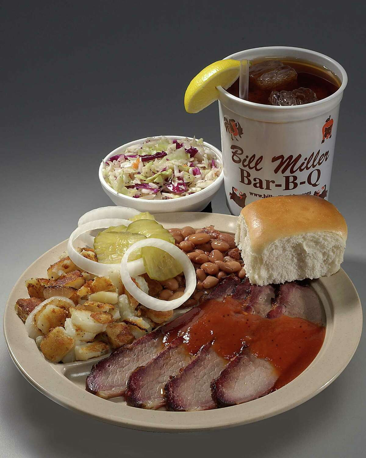 1. Bill Miller Bar-B-Q You don't know how much you appreciate the chain until you're out of the city.