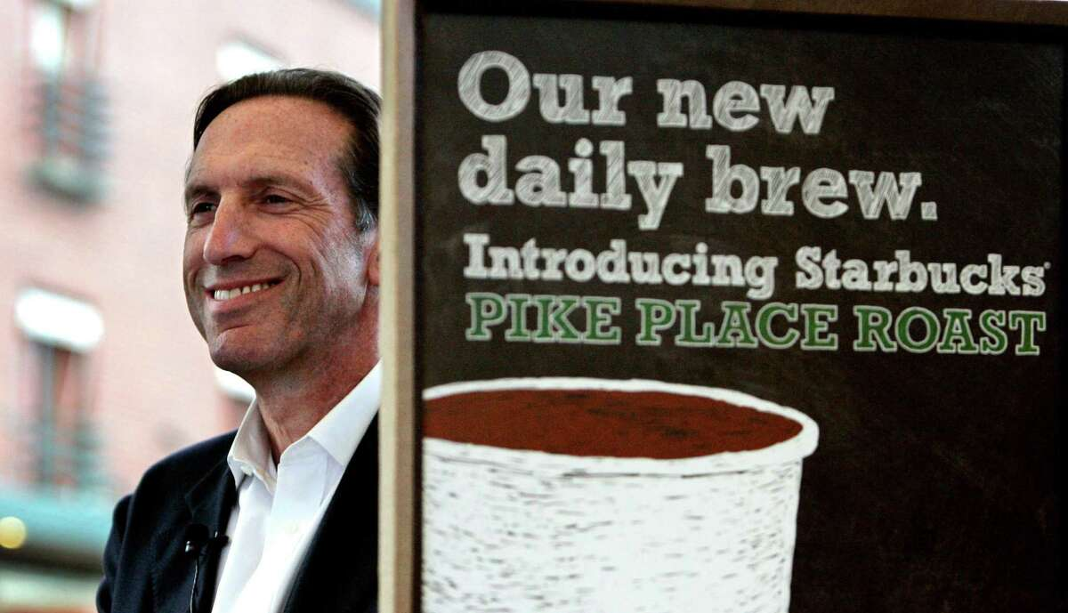 Starbucks CEO Howard Schultz, pictured in a file photo.