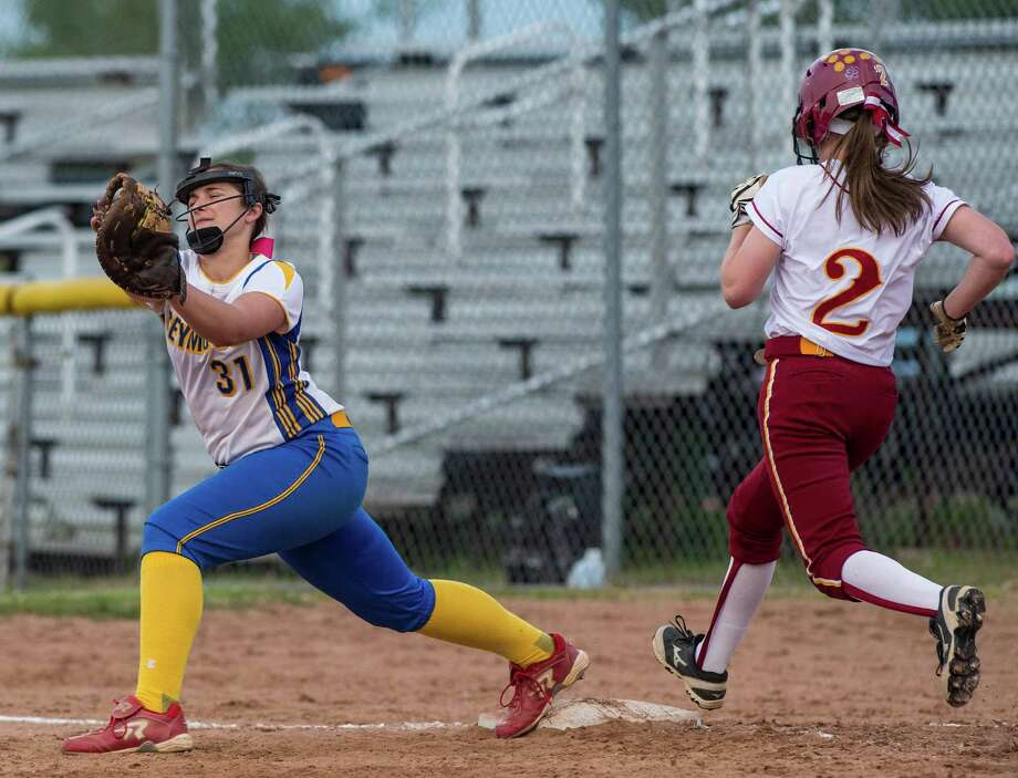 St. Joseph high school against Seymour high school during a CIAC class M semifinal softball game played at Deluca Field, Stratford, CT on Monday, June 8th, 2015. Photo: Mark Conrad / Connecticut Post Freelance