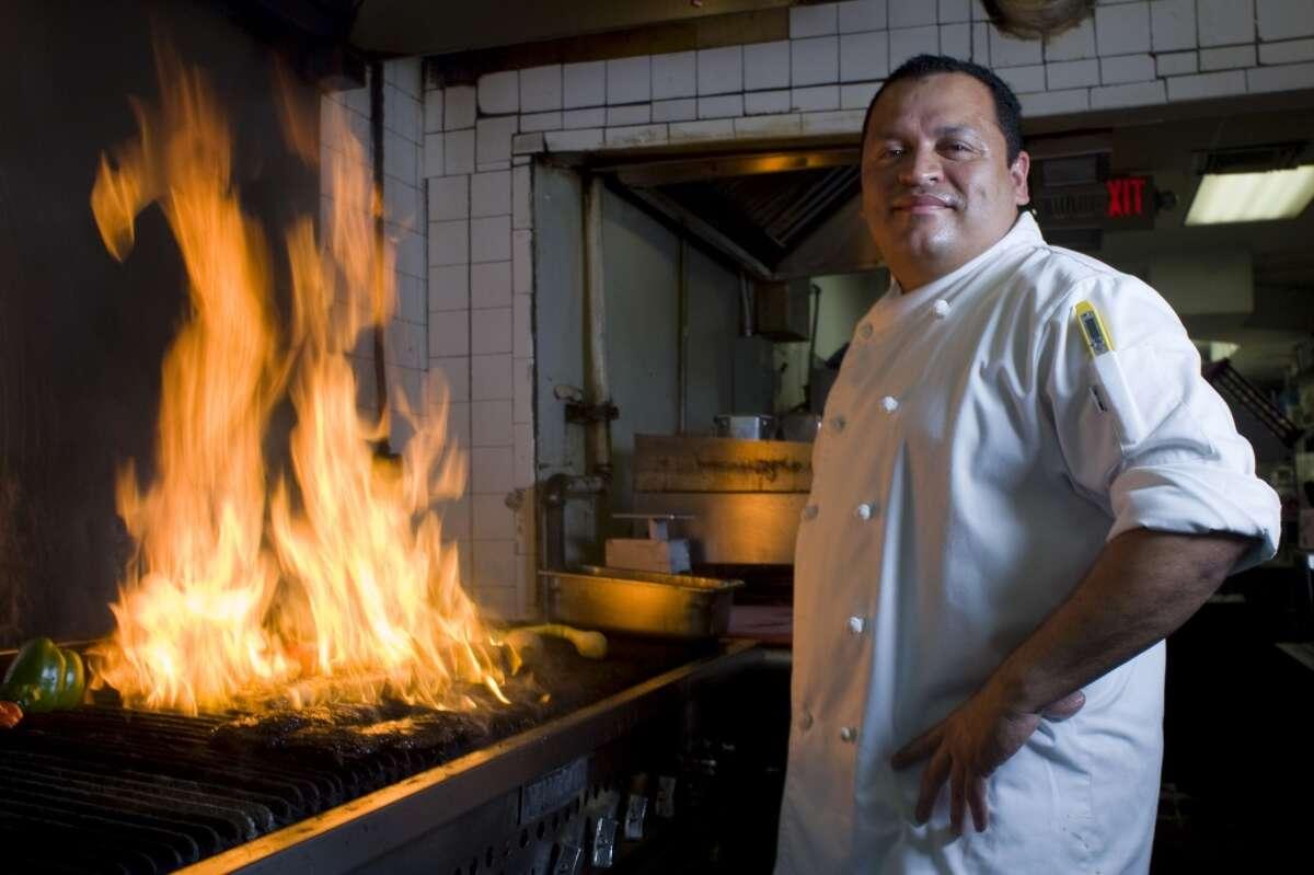 Alex Padilla is executive chef of Ninfa's on Navigation, 2704 Navigation.