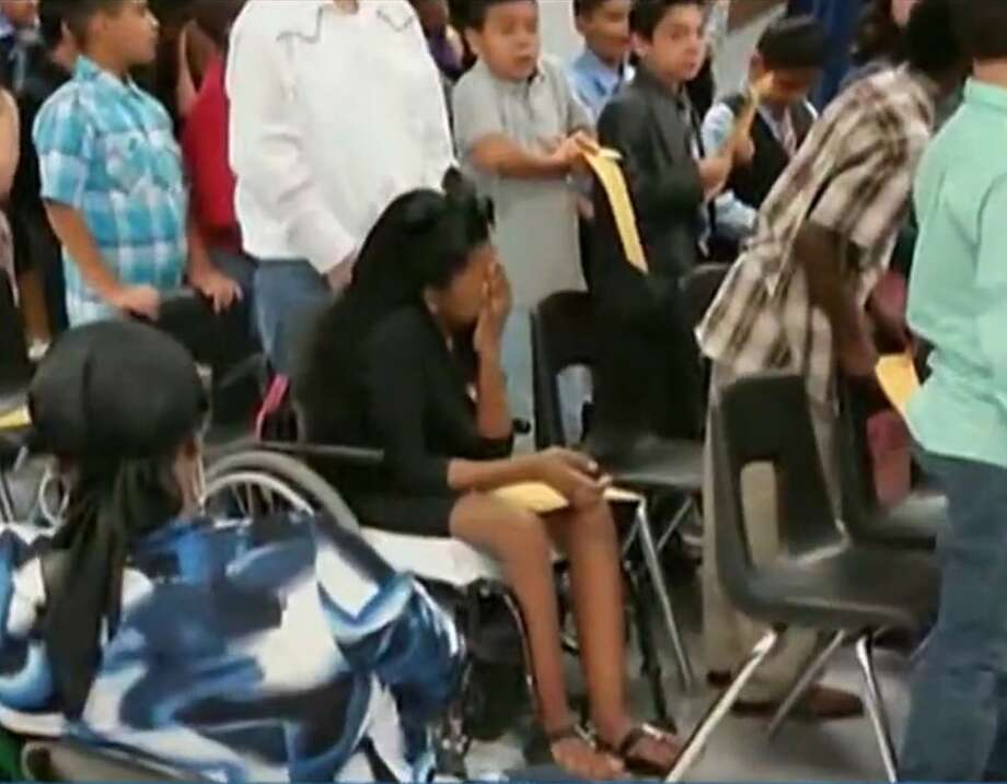 Trinecia Blacklock was overlooked at her ffith grade graduation.