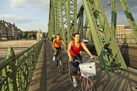 Biking is an energizing way to take in the sights of Budapest.  az130717-2726.jpg