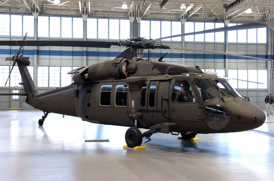Sen. Richard Blumenthal wants the U.S. to purchase 15 additional UH-60M Black Hawk helicopters, as pictured here in the military hangar at Sikorsky Aircraft in Stratford in 2008, for the Army National Guard. Photo: Ned Gerard /File Photo / Connecticut Post